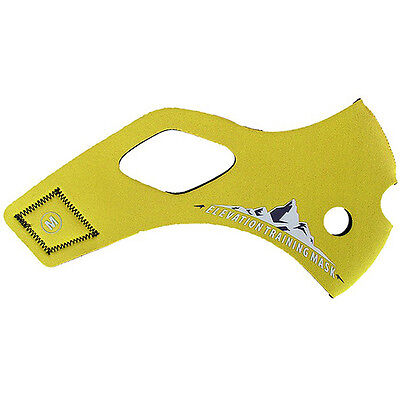 Elevation Training Mask 2.0 Solid Yellow Sleeve Only - Small