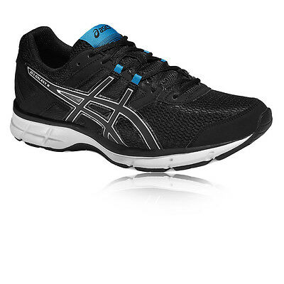 ASICS Gel-Galaxy 8 Mens Black Cushioned Running Road Sports Shoes Trainers