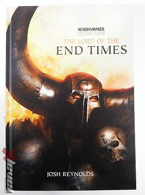 The Lord of the End Time – Hard Cover Novel [x1] Books [Warhammer] Very Good