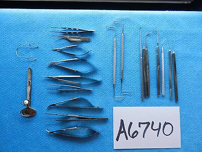 Alcon Sklar Storz V Mueller Surgical Eye Instruments Lot Of 20