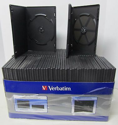 Verbatim DVD Trim Video Storage Cases - Lot of 94 left from 100 Pack