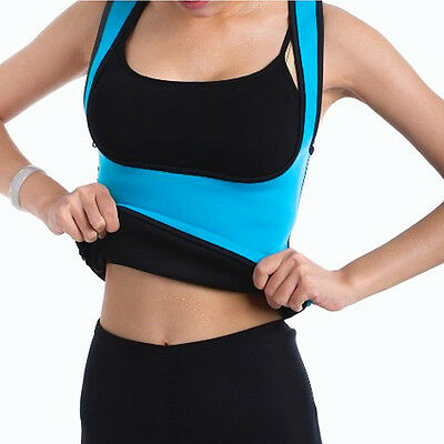 Neoprene Slimming Thermo Sauna Belt Women Shaper Vest Body Sweat Hot Cincher HT