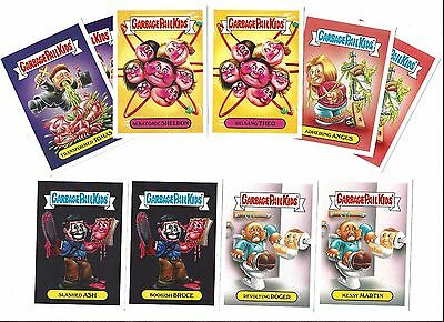 Garbage Pail Kids 2016 Prime Slime Fall Tv Preview Complete Set On Line Limited