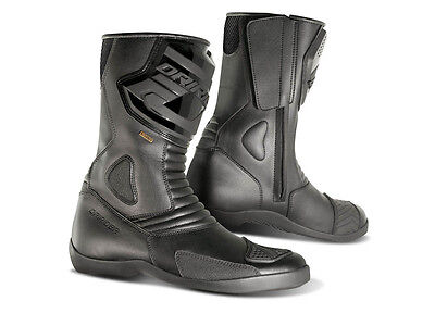 Dririder Apex Road Motorcycle boots black size 40 Euro RRP $199