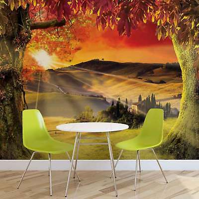 WALL MURAL PHOTO WALLPAPER XXL Landscape Italian Sunset (2599WS)