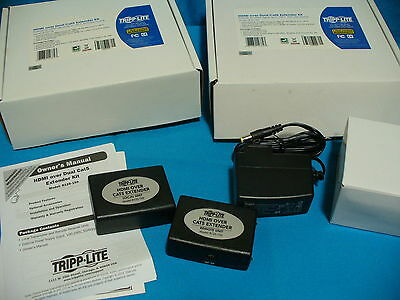 New Tripp Lite B125-150 Hdmi Over Dual Cat5 Extender