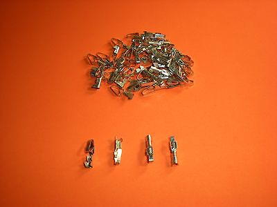 "100 Lot Molex 08-52-0072 .156"" KK 396mm Crimp Pins 18-24 AWG Series 2478"
