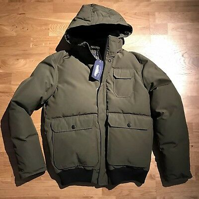 Penfield Shearling Collar Down Jacket Carson Green Khaki M Medium Mens Bomber