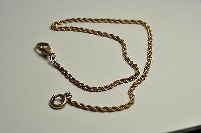 Antique  gold filled long Pocket Watch Fob Chain 13 Inches