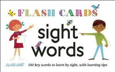 NEW Sight Words - Flash Cards By Alain Gree Card Deck Free Shipping