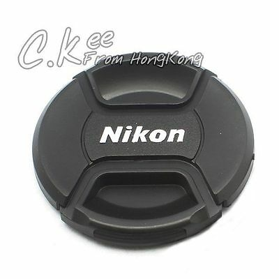 62mm Snap-on Lens Cap for Nikon Camera Fit For Any 62mm Filter Size Lens