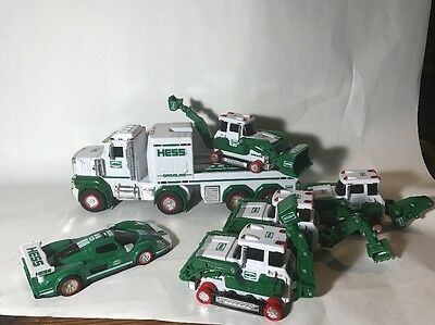 Collection Of Hess Trucks Unknown Working Condition 2013 2009