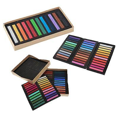 12/24/36/48 Pcs Soft Chalk Pastels Set for Art Drawing Tool Scrapbooking&More