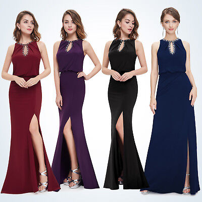 Women Elegant Long Formal Evening Cocktail Party Prom Dress 08383 Ever Pretty
