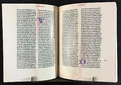 Wycliffe Bible, New Testament 1382, Facsimile