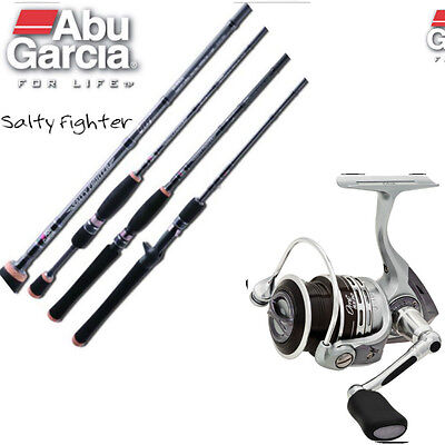 Abu Garcia Salty Fighter 7' 6-10 Kg 2pc Fishing Rod AND Orra SX40 Reel Combo