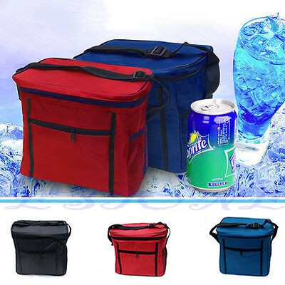 Travel Waterproof Portable Thermal Cooler Insulated Lunch Ice Picnic Tote XC Bag
