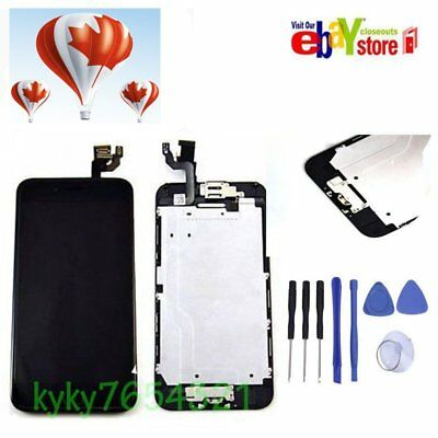 "For black iPhone6 4.7"" LCD Touch Screen Digitizer with Homebutton and Camera"