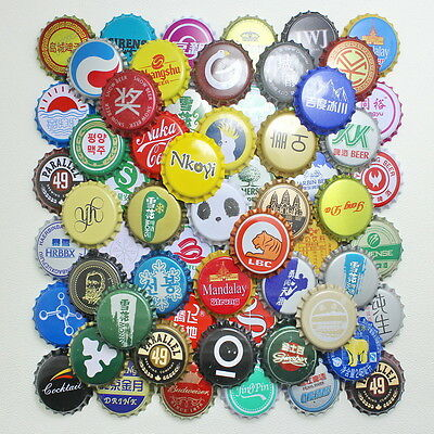 100pcs China Bottle beer Caps KRONKORKEN CROWN CAPS