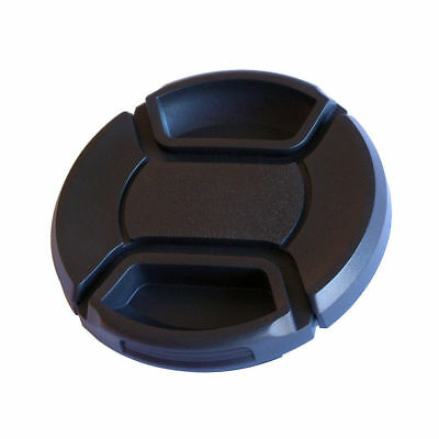 AU 58mm Pinch Snap-on Front Lens Cap cover FOR Canon Sony Panansonic Camera New