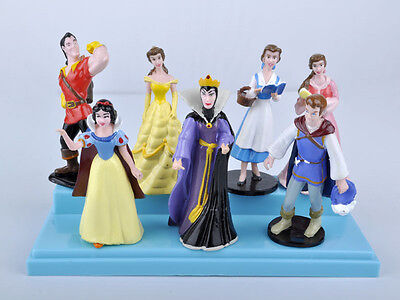 Classical Snow White,Queen and Prince Figurine PVC Figure Toy Figure 7 pcs