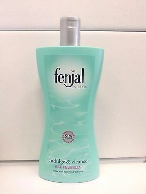 Fenjal Classic Indulge & Cleanse BATH BUBBLES 400ml