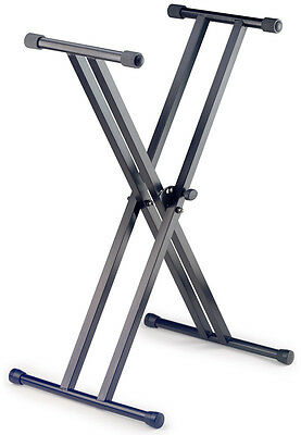 Stagg KXSA6 Double Braced X-Frame Keyboard Stand