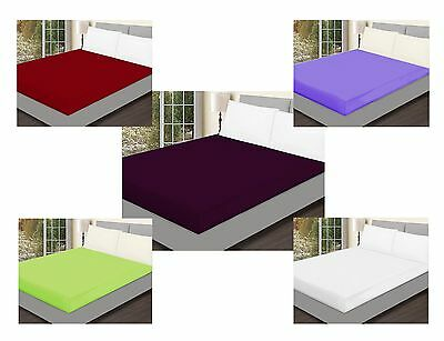 Buy 1 Get 1 Free! Super Sale!  Luxury Non-Iron Fitted Sheet
