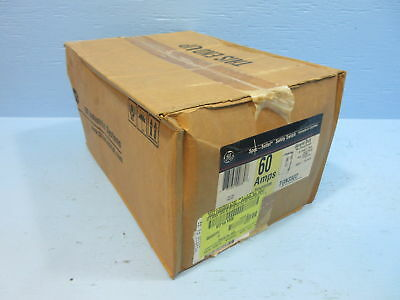 New GE TGN3322 60 Amp 240V General Duty Non-Fusible Safety Switch 60A NIB