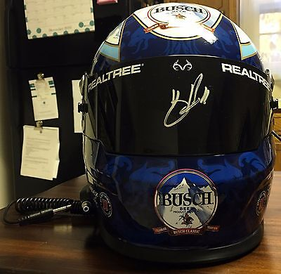 KEVIN HARVICK Signed Autographed Full Size Helmet, Busch Classic Beer, #4, JSA