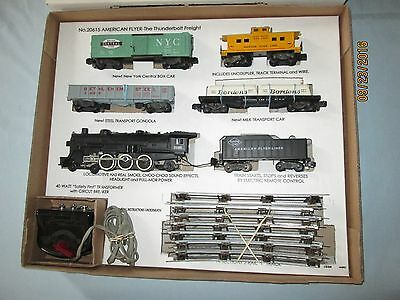 "Reproduction Box & Insert for American Flyer ""The Thunderbolt"" Set #20615"