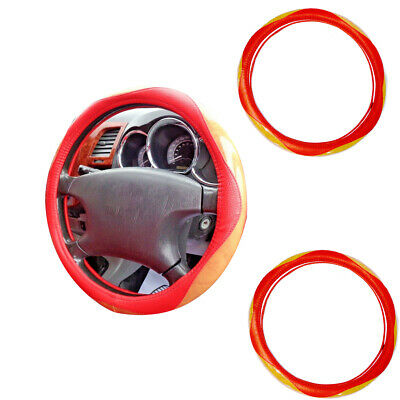 Steering Wheel Cover Universal Soft  Leather for CAR/VAN 2 Colors
