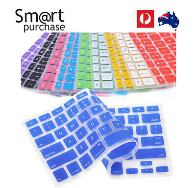 Silicone Keyboard Cover Skin For Apple Macbook Pro Mac 13 15 17 Air 13
