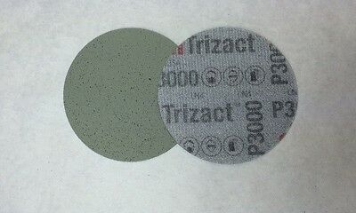 1 x Scheibe Hookit Selbsthaftend 3M 50415 TRIZACT DURCHMESSER 75 P3000