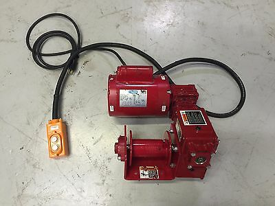 Thern Wire Rope Winch - Model 4WP2