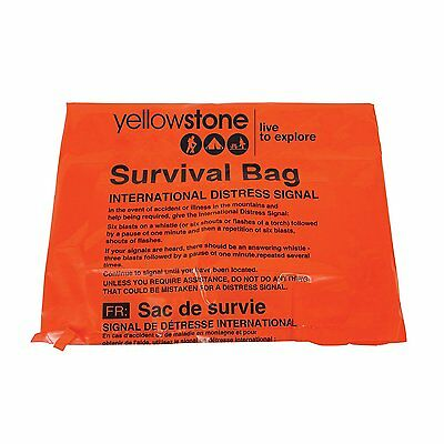 Yellowstone Emergency Survival Bag Camping Hiking Heavy Duty Bivi Sleeping Bag