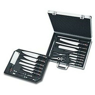 Wusthof Classic 25-Piece Chef's Knife Set with Attache Case
