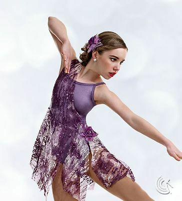 Lyrical Ballet Dance Dress Costume Wild Whimsy Fairy Child Small & Adult 2XL