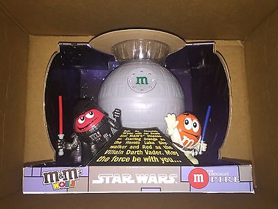 M&Ms MandMs MMs Star Wars Death Star Candy Dispenser NEW in BOX
