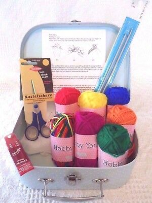 Beginners Knitting Kit Learn how to Knit Everything Included Easy & Gorgeous!