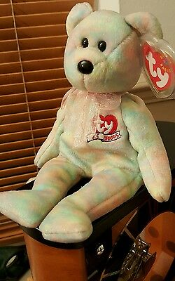 Ty Beanie Baby CELEBRATE (15th Anniversary Bear) MINT Condition - Very Rare