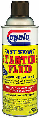Cyclo Starting Fluid 10.7 oz Aerosol P/N C100