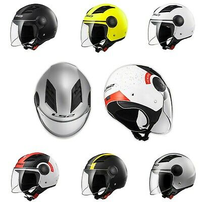 Casco Jet LS2 OF562 AIRFLOW L Predisposto per interfono Traspirante Moto Scooter