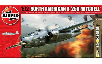 Airfix North American B-25H Mitchell Gift Set 1:72 Model Kit