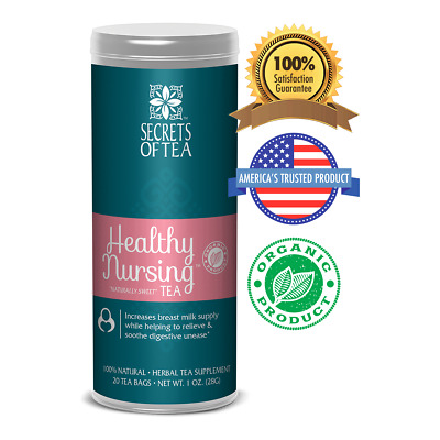 Healthy Nursing Tea - Naturally Sweet - Boost Milk Supply