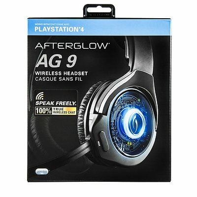 PDP Afterglow AG9 Wireless Gaming Headset PS4
