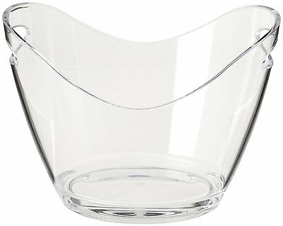 Ice Bucket Clear Acrylic 3.5 Liter Good for up to 2 Wine or Champagne Bottles
