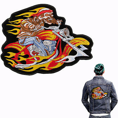 biker patch backpatch god speed you 31 5x24 5cm kutte mc. Black Bedroom Furniture Sets. Home Design Ideas