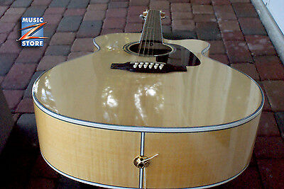 Takamine GJ72CE-12 G Cutaway 12-String Acoustic-Electric Guitar Natural NEW
