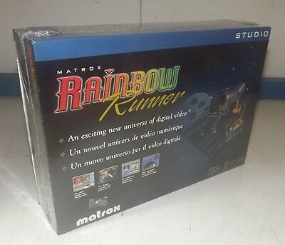 New Matrox Rainbow Runner Studio Video Editing (Mga-Myst/rrsti)
